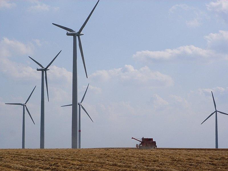 Energia eolica - foto di Bodoklecksel