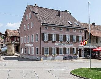 Beringen, Switzerland - Wirtschaft zum Gemeindehaus