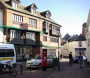 Wiveliscombe - Image: Wiveliscombe houses