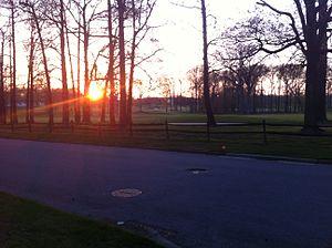 Delaware - Sunset in Woodbrook, New Castle County, Delaware