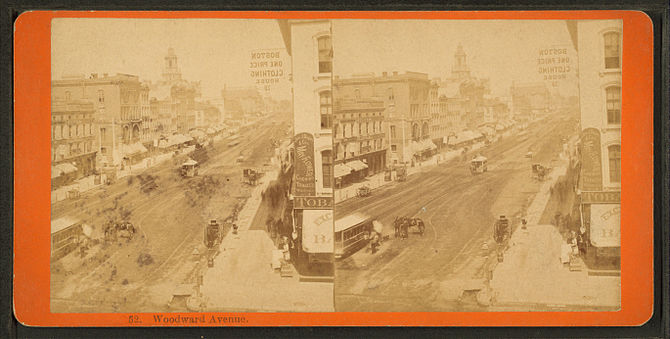 Woodward Avenue, Detroit, Michigan, from Rober...