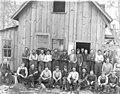 Workers and main building, Heybrook Lumber Co near Index, ca 1913 (PICKETT 232).jpeg