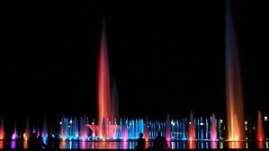 Wrocław Fountain - Image: Wroclaw fontanna multimedialna 8