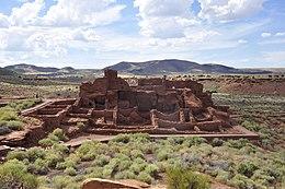 Wupatki National Monument - Wupatki Pueblo - 02.JPG
