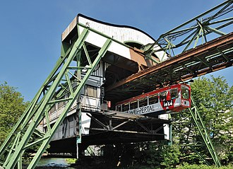 Wuppertal Suspension Railway - Image: Wuppertal 100522 13378 Werther