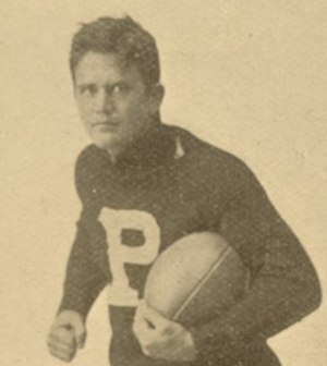 Wylie G. Woodruff - Woodruff in his 1893 Penn football photo