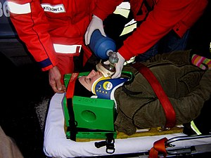 Emergency medical services in Poland - Polish paramedics at work