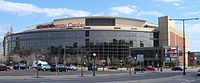 Xcel Energy Center, host venue of the convention