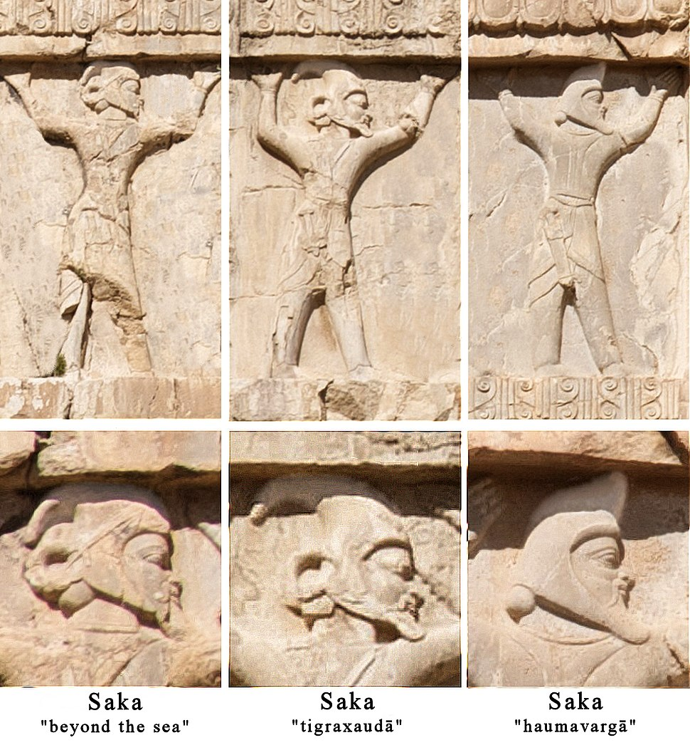 Xerxes detail three types of Sakas cleaned up