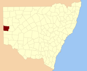 Time in Australia - Yancowinna County in New South Wales