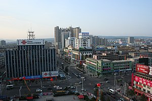 Yanbian Korean Autonomous Prefecture - Yanji, the prefectural seat of Yanbian