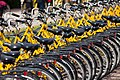 Yellow bicycles (7160734065).jpg