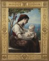 Young Mother and her Child (Elisabeth Jerichau-Baumann) - Nationalmuseum - 18347.tif