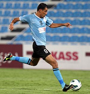 Younis Mahmoud - Younis Mahmoud playing for Al-Wakrah in 2012.