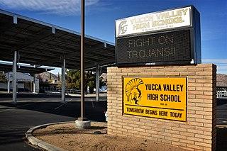 Yucca Valley High School Public school