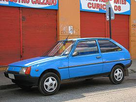 Front Wheel Drive Cars >> ZAZ Tavria - Wikipedia