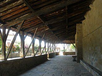 Elizate - Porch of Saint Martin's church in Zamudio.