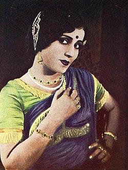 Zubeida dans Seva Sadan (1934) (color publicity still).jpg