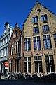 """""""Gevels van de oude stijl en fietsen in de buurt van de Steenstraat in Brugge"""".jpg"""