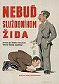 """Nebuď služobníkom žida""—Slovak propaganda poster.jpg"