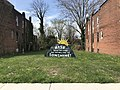"""""""Rise Above the Storm and You Will Find the Sunshine"""" sign in vacant lot, 4620 Park Heights Avenue, Baltimore, MD 21215 (33718933978).jpg"""