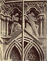 """The Last Judgment."" Niche Sculptures, Wells Cathedral West Façade (3611638712).jpg"