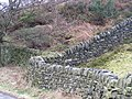 'Close up' of Dry Stone Walls on Lee Lane - geograph.org.uk - 720843.jpg