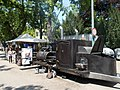 'FőzőFeszt' Brewing Festival 2015. Big Eater Bill's BBQ stand. - Budapest, City Park. Olof Palme promenade.JPG