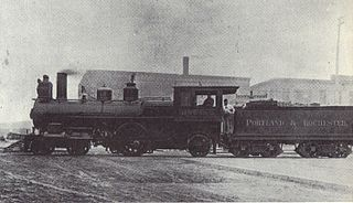 Worcester, Nashua and Rochester Railroad transport company