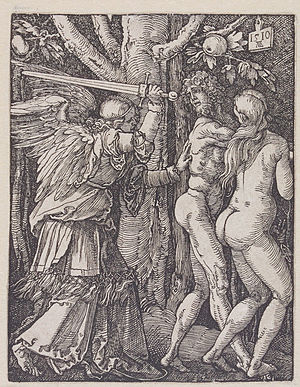Albrecht Dürer - The Expulsion From Paradise by Albrecht Dürer