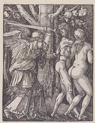 Albrecht Dürer - The Expulsion From Paradise by Albrecht Dürer