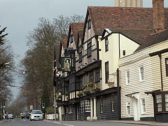 Chigwell - Image: 'The Olde Kings Head' inn geograph.org.uk 731636