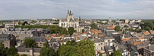 's-Hertogenbosch - Image: 's Hertogenbosch Panorama Gezicht op Sint Jan vanaf Sint Jacobskerktoren RCE