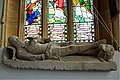 (1) Effigy of a medieval knight - St Peter's church, Dorchester - geograph.org.uk - 2639214.jpg