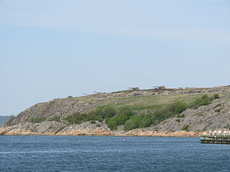 Älvsborg, Gothenburg - Oscar II's Fort, now a military museum.