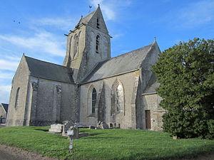 Église de Fontenay-sur-Mer.