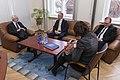 Ārlietu komisijas priekšsēdētājs Ojārs Ēriks Kalniņš tiekas ar Igaunijas Nacionālas aizsardzības komisijas priekšsēdētāju (31904641060).jpg