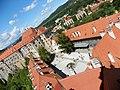 Český Krumlov památka Unesco pohled z Věže na zámek Czech Krumlov UNESCO monument view from the towers of the castle - panoramio.jpg