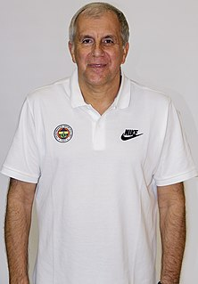 Serbian basketball player, basketball coach