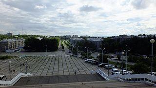 Amursk Town in Khabarovsk Krai, Russia