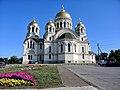 Войсковой Вознесенский кафедральный собор - вид с Красного спуска.JPG