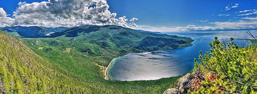 Озеро Байкал,губа Аяя