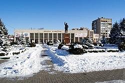 ДК им. Ленина и администрация. Парк, центр. - panoramio.jpg