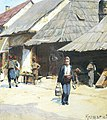 "Зеница - 1903 - ""Дорфлебен"" (Сеоски живот), Рихард Конрад Кромар фон Хохенволф 3.jpg"