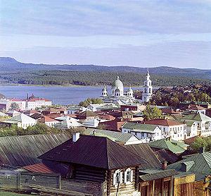 Zlatoust - View of Zlatoust ca. 1910