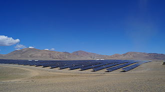 Solar power by country - A solar power plant in Russia