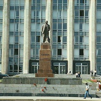 Monument to the Victims of the Soviet Occupation - Image: ЛЕНИН (1980). (8683013186)