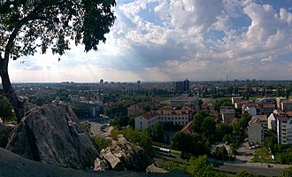 Plovdiv - A view around the banks of the Maritsa.