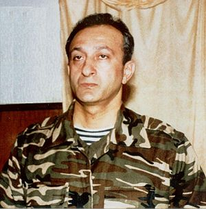 Rovshan Javadov - Rovshan Javadov at his headquarters