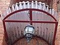 Старинный фонарь над входом в дом..JPG
